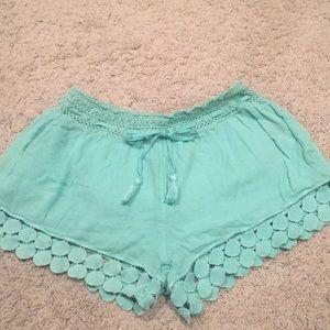 Aerie beach shorts